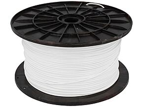 Filament PLA 1,75mm biały 1kg 195°C ±0,05mm
