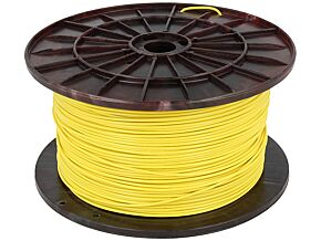 Filament PLA 1,75mm żółty 1kg 195°C ±0,05mm