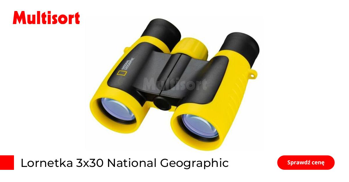 Lornetka dla dzieci National Geographic 3x30
