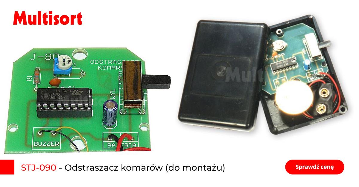 Prezent dla elektronika, odstraszacz komarów (do montażu)