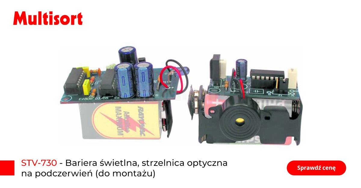 Prezent dla elektronika, bariera świetlna, strzelnica optyczna na podczerwień (do montażu)
