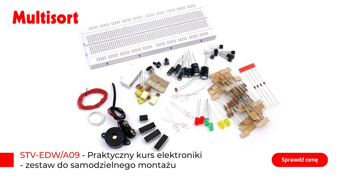 Praktyczny kurs elektroniki, zestaw do samodzielnego montażu