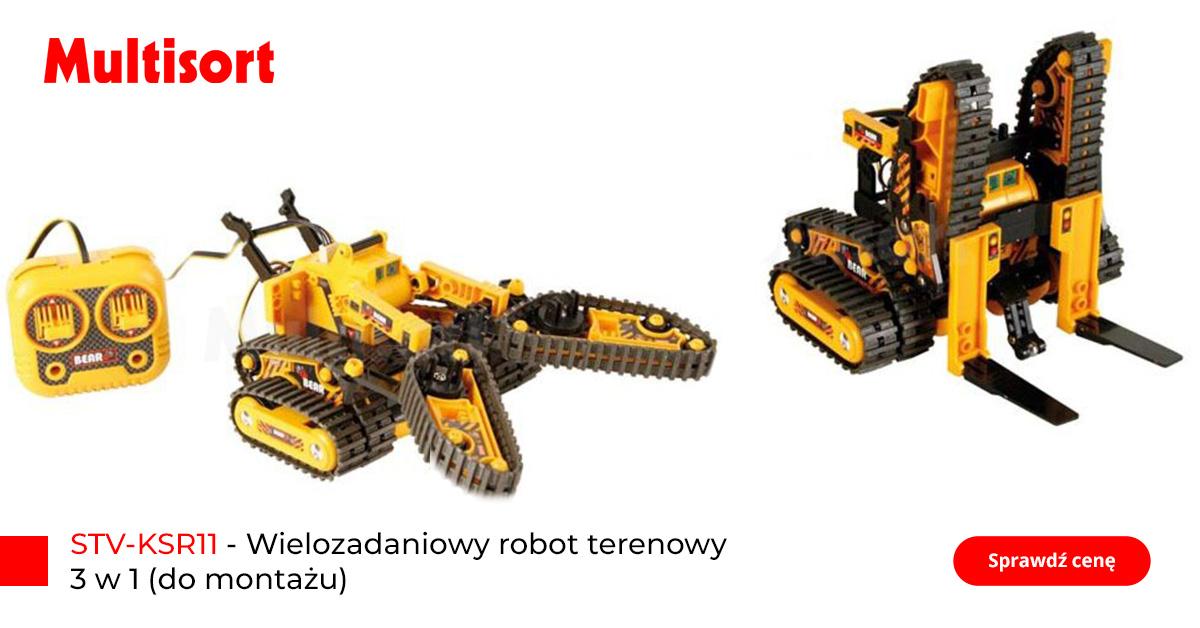Robot dla dzieci, terenowy, wielozadaniowy
